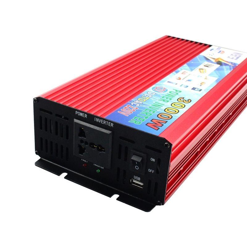 3000W Peak Real 2000W Car Power Inverter 12V to 220V Modified Sine Wave Converter Car Charger Veicular 12V DC To AC 220 inversor (9)