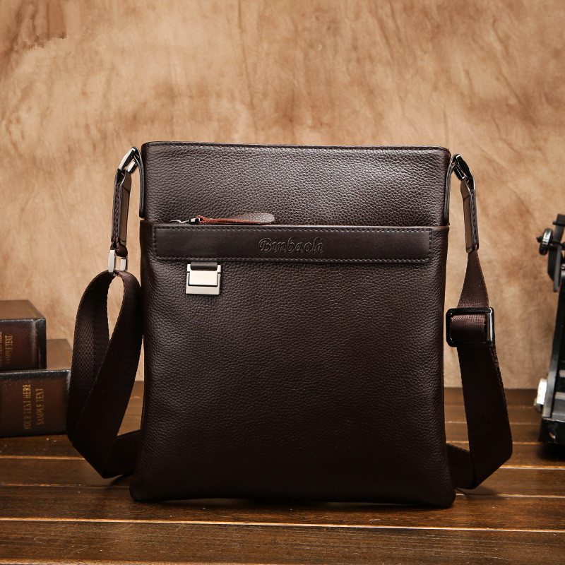 HOT!!!2017 New Real Cowskin Mens Cross-body bags Brand Design Cowhide Male Shoulder Messenger bag Genuine leather business bags<br>