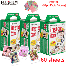 Original Fujifilm Fuji instax mini 8 film 60 sheets white Edge film for Fujifilm mini 8 7s 25 50s 90 Instant Camera Photo Paper