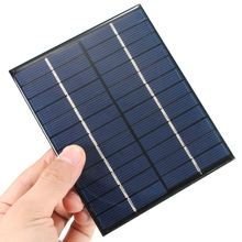 Universal 12V 2W 160mA 136x110mm Polycrystalline Silicon Solar Panel Module Cells for Phones Charger DC Battery DIY High Quality