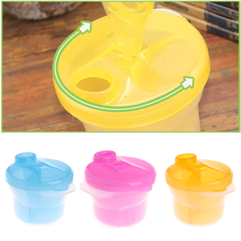 Baby Milk Powder Dispenser Feeding Container Storage Box Travel Bottles Kids Care -B116