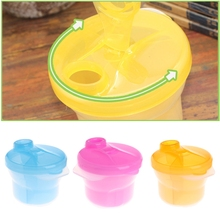 Buy Baby Milk Powder Dispenser Feeding Container Storage Box Travel Bottles Kids Care -B116 for $2.14 in AliExpress store