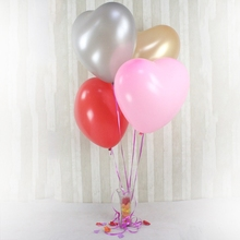 12pcs 16inch 10g Heart Latex Advertising balloon Wedding Birthday Party Decoration Baby Toy Kids Play Air Ball Gift kvadrokopter