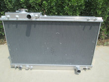 2 ROW Aluminum Radiator FOR TOYOTA SUPRA MKIV 3.0L 2JZ-GE NA MT 1993-1996 93 94 95 96(China)
