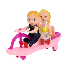 New Arrival Doll Car Accesories For barbie Kali dolls furniture car Baby Girl Cute Toys