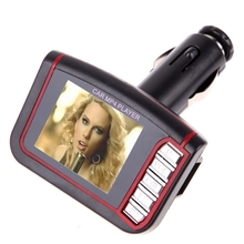 "2016 New Hot 1.8"" LCD Car MP3/MP4 Player FM Transmitter Modulator With Remote Control Car Electric"