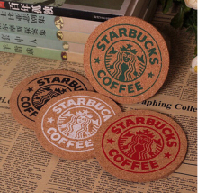 Round Wood Coasters Cup Cushion Holder Non-slip heat-proof mat coffee drink Coasters Cup Mat,10pcs/lot