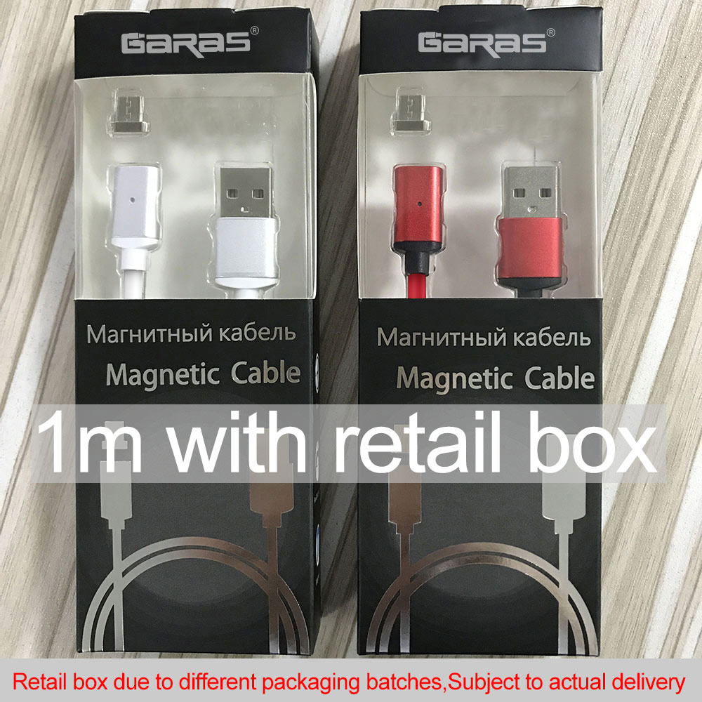 GARAS USB Type C/IOS/Micro USB 3IN1 Magnetic Cable Type-C USB-C Fast Charger Adapter Magnet Cable For IPhone Mobile Phone Cables 17
