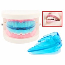 1 pcs white/blue Dental Tooth Orthodontic Appliance Trainer Alignment Braces Mouthpieces Dental Orthotics Teeth Care choose(China)