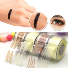 Buy Fashion Invisible Double Eyelid Adhesive Tape Stickers Eyes Makeup Tool Drop Wholenet S Size Hot Selling for $1.36 in AliExpress store