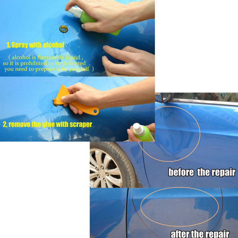 PDR Tool Instruments Ferramenta For Car Tool Kit Dent Removal Paintless Dent Repair Car Body Repair Kit
