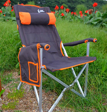 Outdoor folding chair aluminiuim portable fishing chair camping chair for sale Ruusian FREE SHIPPING(China)