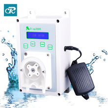 Cased Peristaltic pump battery powered for wall mounted