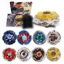 Hot Sale Beyblade Metal Plastic Fusion 4D Spinning Rapidity Beyblades Spin Top Toy Set,Bey Blade Spinner with Launcher Kids Toys(China)