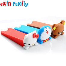 Anti Skid Stopper Wedge Holders Kawaii Lovely Cute Cartoon Doraemon Rubber Door Stop Hello Kitty Gate Guard Child Safe Eudemon