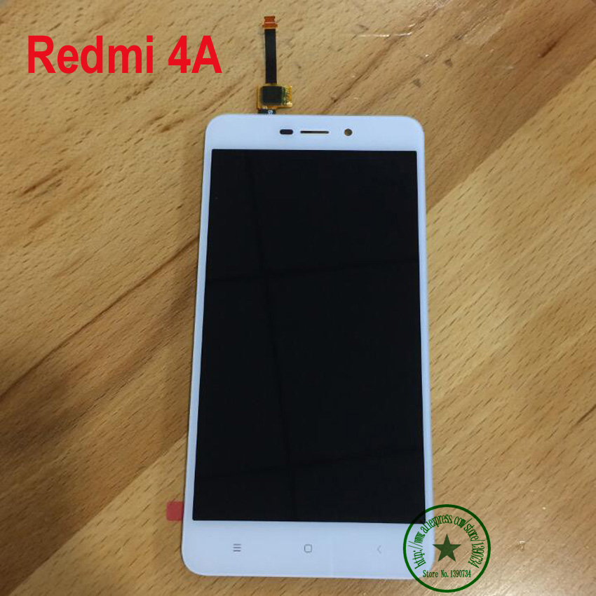 5.0 Black White Gold TOP Quality NEW Full LCD Display Touch Screen Digitizer Assembly For Xiaomi Redmi 4A / Hongmi 4a Parts<br><br>Aliexpress