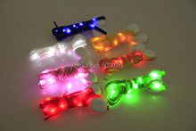 Free shipping 4PCS/2pairs Light Up LED Shoelaces Party Glowing Night Running Shoe Laces Club Highlight Luminous Shoelace