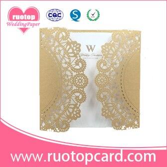 Various designs customize laser cut 50th wedding anniversary various designs customize laser cut 50th wedding anniversary invitation cards and greeting cards m4hsunfo