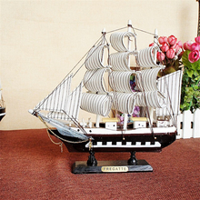 Wooden Sailing Boat Classics Antique Ship Model Kits World Famous Boat Home Desk Decoration Children Gifts Crafts(China)