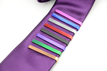 New Designers High quality 8 Colors Hot Formal Necktie Tie Clip for Men's Skinny Glossy Tie Bar Wedding Tie Clips