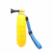 Buy Sj4000 Float Yellow Bobber Handheld Monopod Floaty Grip w/ Wrist Strap Gopro Camera Hero 4 3 3+ SJcam Xiaomi Yi Accessories for $2.25 in AliExpress store