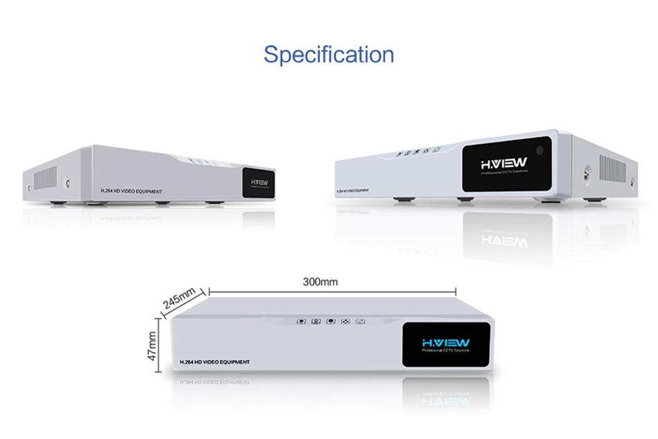 H.VIEW AHD DVR 8ch 4ch Recorder Surveillance 1TB HDD AHD DVR 8ch 4ch Recorder Surveillance for Analog TVI CVI IP Camera (11)