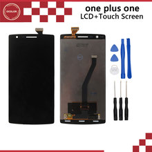 For Oneplus one Original LCD Display and Touch Screen With Frame Assembly Repair Part For One plus one Free Shipping+Tools