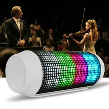 Wireless Bluetooth Speaker Outdoor Colorful LED Lights Support U-disk TF card Sound Box(China)