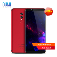 Original UMIDIGI S2 4G Smartphone 18:9 Full Screen Dual Back Camera OctaCore 5100mAh Android 6.0 4GB+64GB Long Standby Cellphone(China)