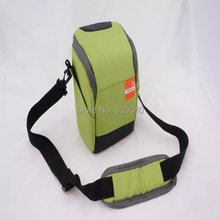 Wholesale- Black/Orange/Green Camera Case Bag for Canon Nikon Sony Mirrorless Digital Camera Free Shipping