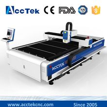 cnc sheet metal fiber laser cutting machine with ce certification