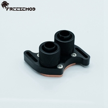 South bridge / north bridge water cooling block liquid cooling block with hole pitch 45 - 60 mm.  BQ-4560N