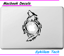Wolf Totem for Apple Creative Sticker Case for Macbook Skin Air 11 12 13 Pro 13 15 17 Retina Laptop Computer Logo Vinyl Decal