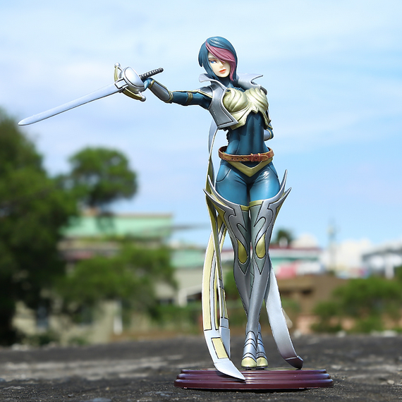 New  Fiora Laurent The Grand Duelist pvc 26cm action figure collectible model toy brinquedos anime juguetes kids toy hot<br>
