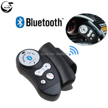 Steering wheel Wireless Bluetooth Car Kits Safety Driving Mini Handsfree Calling Talking Phone Speaker Microphone Vehicle Kit