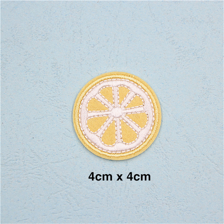 Pf Fine Stripe Fruit Patch Pineapple Embroidery For Clothing Mgb Wiring Diagram In Addition 1978 Triumph Spitfire Applique Accessories Tops Bag Iron On Patches Stickers Tb211 Us234