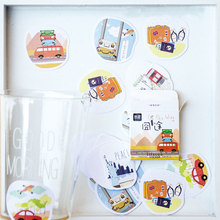 45 pcs/pack creative design hand account stickers decoration Diary decoration DIY scrapbooking label seal sticker stationery