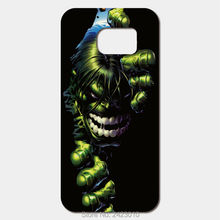 The Incredible Hulk Compact Cover Case For Samsung Galaxy Note 7 6 5 4 3 2 i9220 Nexus i9250 i8552 i9082 N9150 i9003 Phone cases(China)