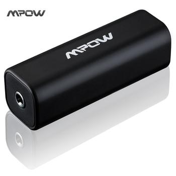 D'origine Marque Mpow MA1Black Bruit de Boucle de Terre Isolateur pour Système Audio De Voiture Accueil Stéréo avec 3.5mm Audio Câble Bruit annulation