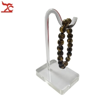 Wholesale 10pcs/lot  Jewelry Display Props Bracelet Chain  Rack Ankle Stand Bangle Shelf  Holder White Clear Acrylic Hook
