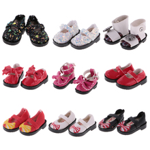 Colorful 1 Pair PU Leather 1/6 Doll Sequins Shoes for 12'' Blythe Dolls BJD SD Girl Dolls Clothing Party New Dolls Accessory Toy(China)