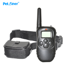Petrainer 998D-1 Remote 300 Control Pet Dog Training Collar with Remote LCD Display Dog Electric Shock Training Anti bark Collar