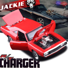 1970 Dodge Chargers R/T Fast & Furious 1:32 Car model Kids Toy Diecast pull back Mustang Challenger sports car gift