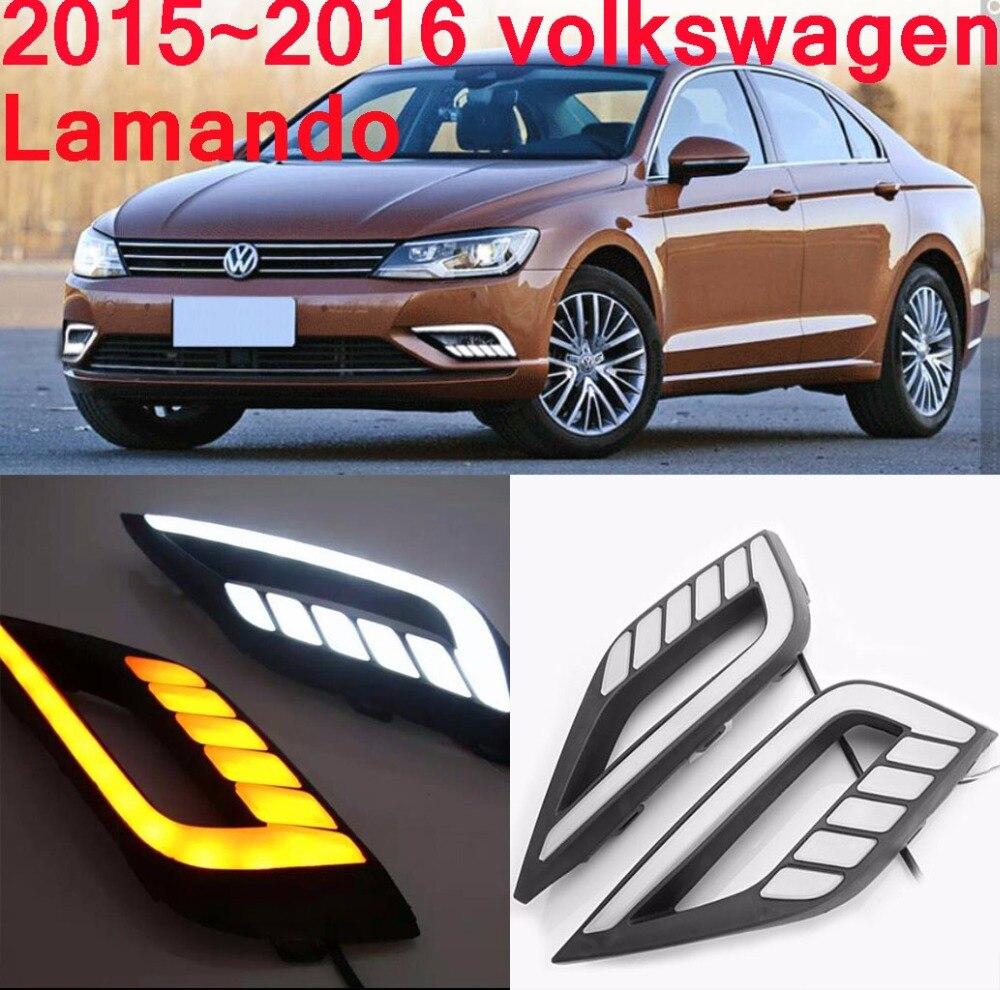 VW Lamando Daytime light;2015~2017, Free ship!LED,VW Lamando fog light,2ps/set;Tiguan,Touareg,Bora,Santana,Jetta,Lamando<br>