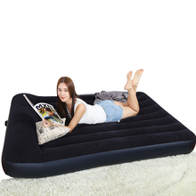 Car inflatable mattresses double home with single folding mattresses thickened outdoor portable bed(China)