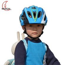 Moon Kids Bike Helmet Ultralight Children's Safety Cycling Bicycle Helmet Cycling Helmet Child Ciclismo Bike Equipment Helmets(China)
