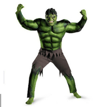 New Avengers Hulk Costumes for kids/ Fancy dress/Halloween Carnival Party Cosplay Boy Kids Clothing Decorations Supplies(China)
