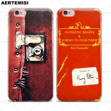 Phone Cases Fantastic Beasts and Where to Find Them Clear TPU Case Cover for Apple iPhone 5 5s SE 6 6s 7 Plus