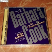 BINYEAE- new CD seal: jazz singer Barbara Cook The Champion Season US version - CD light disk [free shipping]