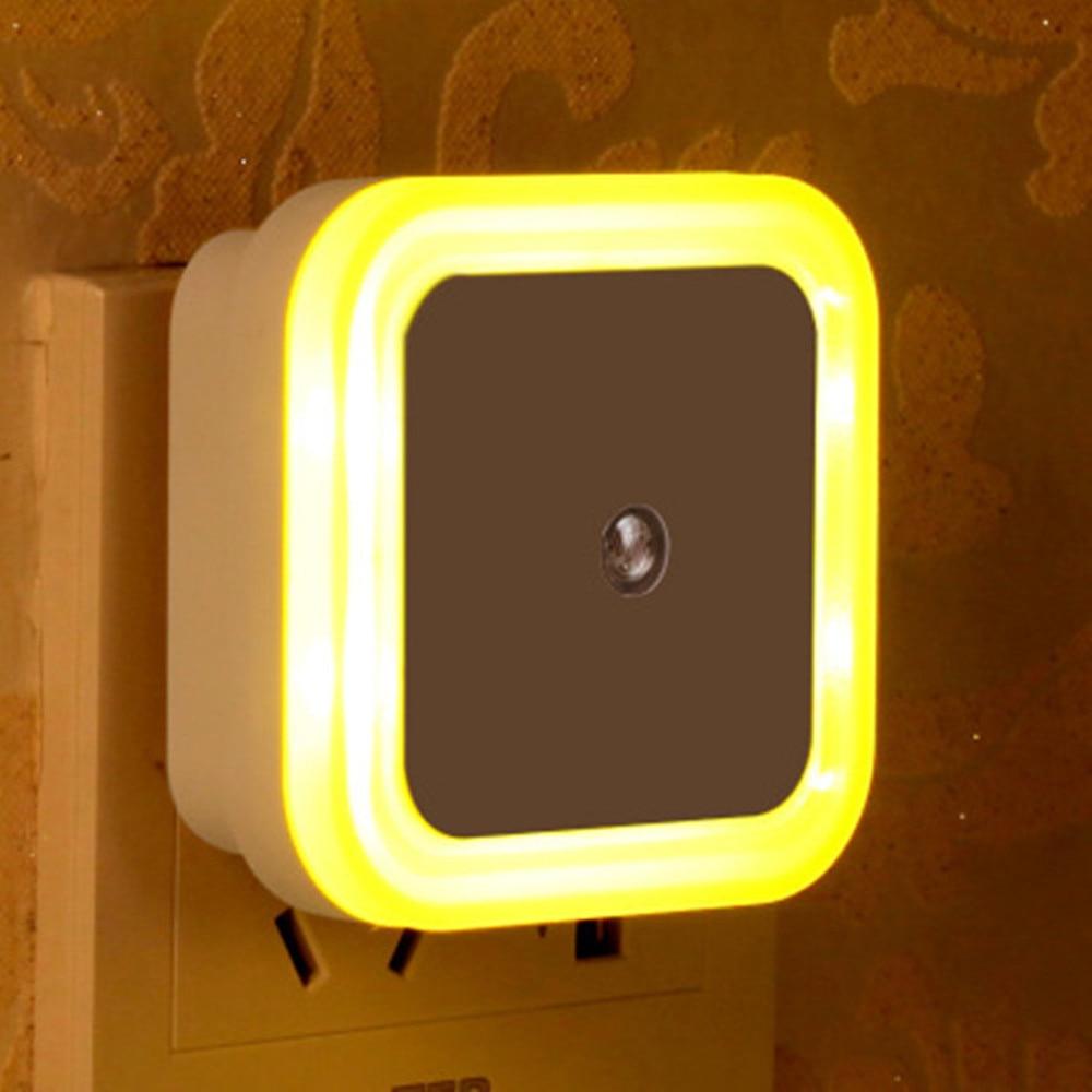 SuperNight Square AC LED Night Light Intelligent light control Sensor Home Decor Wall Lamp Corridor Stairs Bedroom Bedside Lamp (11)